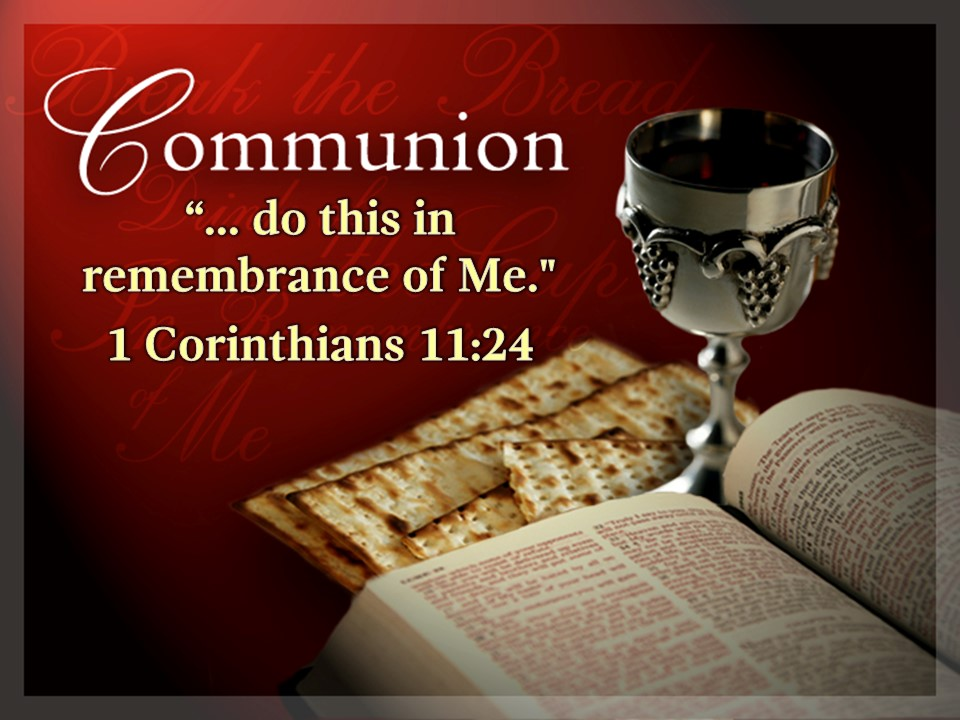 Communion This Sunday, Feb. 17 | New Hope Community Church